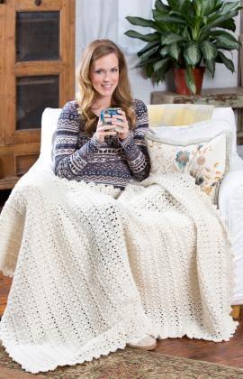 Crochet Patterns Galore - Snowbound Throw free