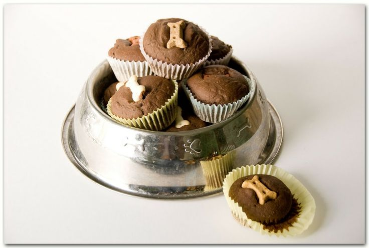 Pupcake recipe from | Three Dog Bakery Cookbook: Over 50 Recipes for All-Natural Treats for Your Dog