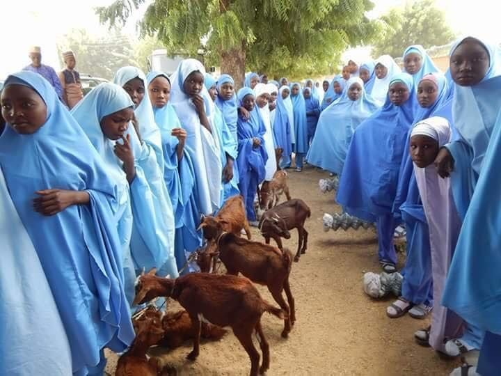 Governor Masari Launches Goat Empowerment Programme For Katsina Students