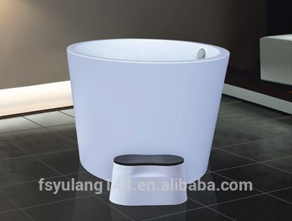 AD-6612 Very small deep bathtub 110cm one person hot tubs oval cheap bathtub price#very small bathtubs#bathtub