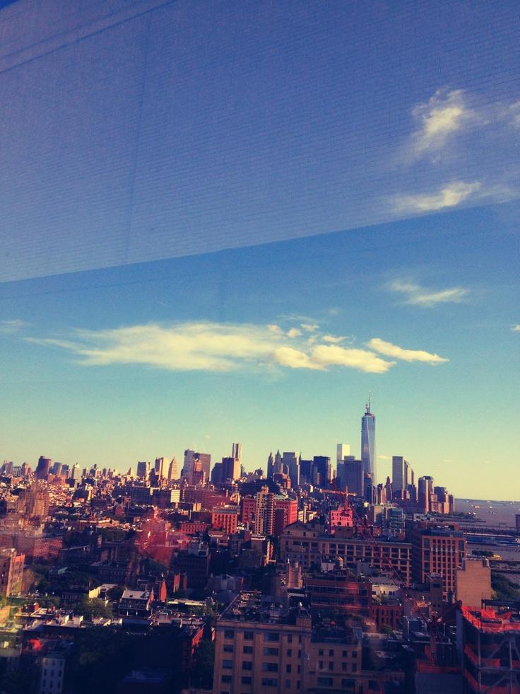 Skyline - rooftop le bain - new york city