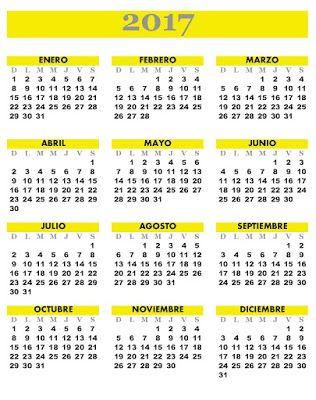 The 25+ best Almanaques para imprimir ideas on Pinterest ...