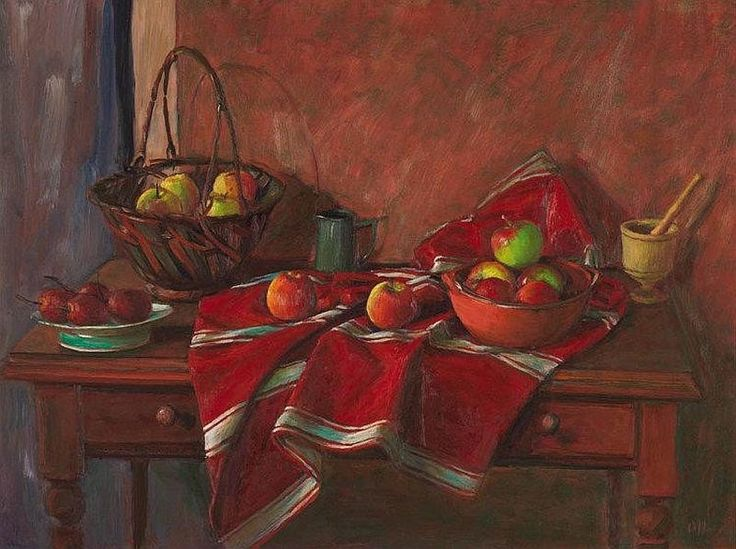 Margaret Olley - Still Life with Apples