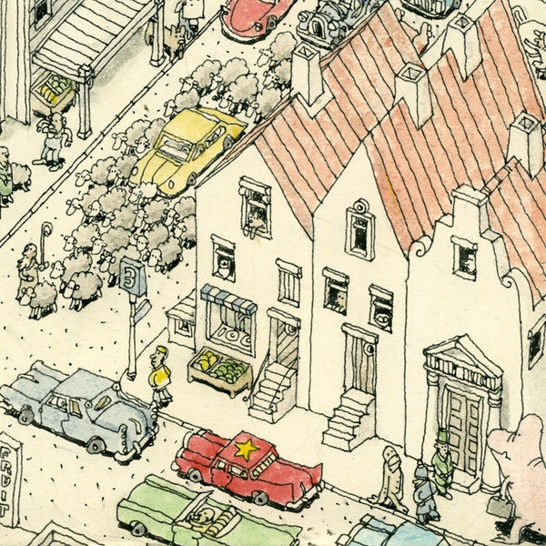 I could look at this guys work all day and not get tired of its whimsical complexity: Sketch, Journals Illustrations, Amazing Work, Guys Work, Daily Illustrations, Mattia Adolfsson, Mattias Adolfsson, Fab Illustrations, Mattia Ink