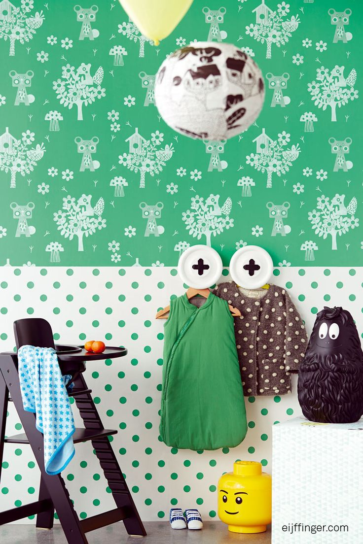 Tout Petit #behang collectie van Eijffinger voor de #kinderkamer. #kids #wallpaper