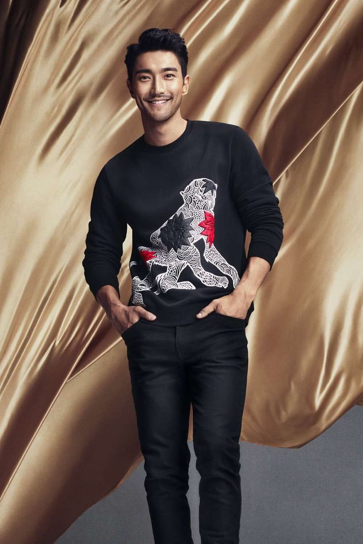 Super Junior's Choi Si Won & Liu Wen for H&M's Chinese New Year Campaign 2016