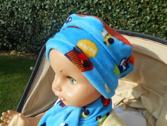 bonnet béret chapeau bébé garçon cadeau naissance lin'eva