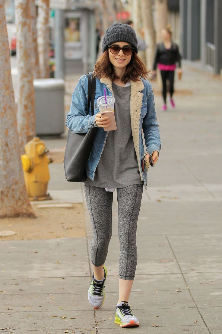 Lily Collins   #LilyCollins Leaves the Gym in West Hollywood 08/02/2017 Celebstills L Lily Collins