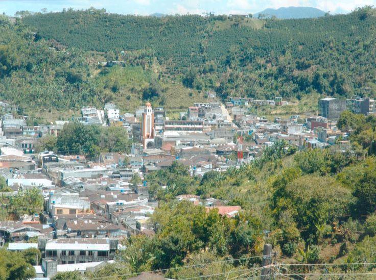 Vista desde el nor-oriente  Fresno Tolima