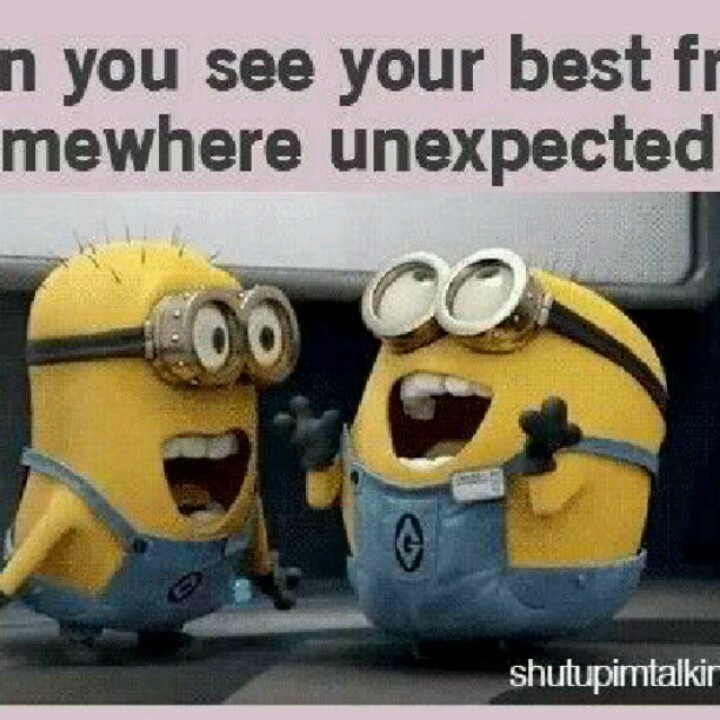 Minnions always are surprised