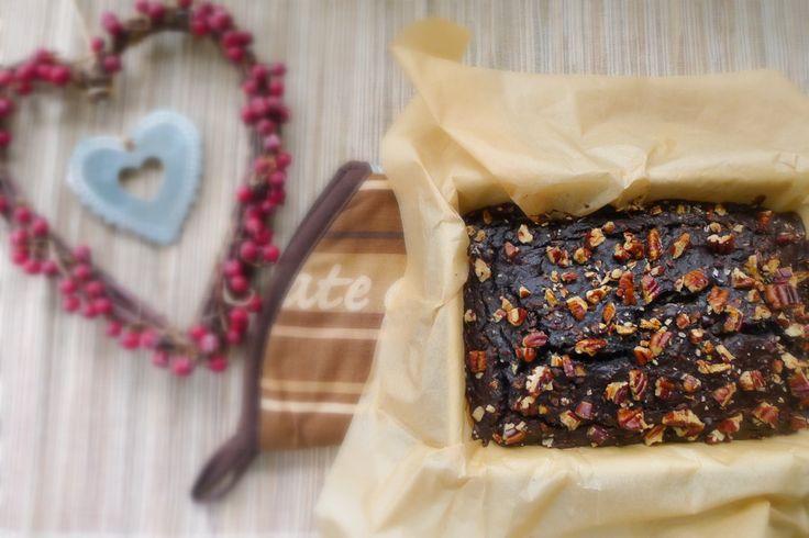 brownies van zwarte bonen uit de oven
