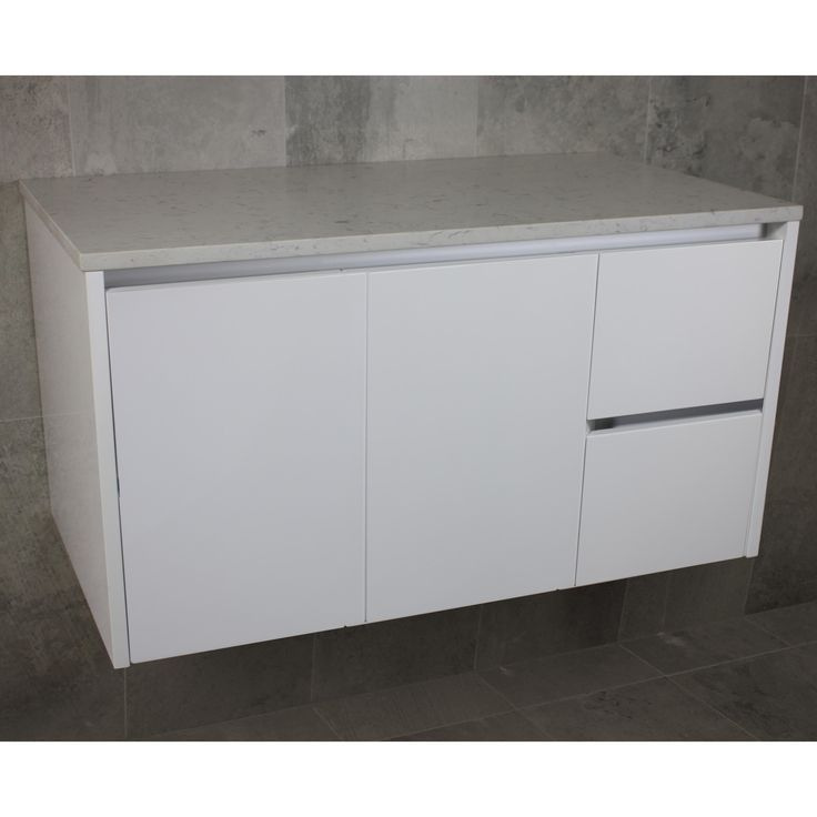 Vista Wall Mount Vanity Cabinet without Top 1200mm