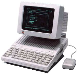 Apple Iic - my college computer. And I had a dot matrix printer to boot. This let me write papers  -  I have two of these in my garage still for no good reason. Sentimental I suppose.