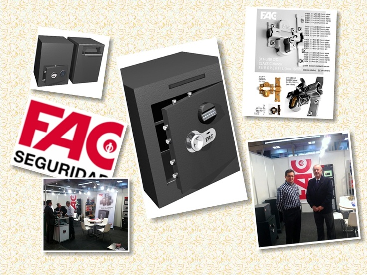 FAC SEGURIDAD, S.A.    FERIA DE BARCELONA  Recinto Gran Via.C/de las Ciencies s/n.  PABELLON 2-STAND D06  Del 9 de Marzo al 10 de Marzo 2012