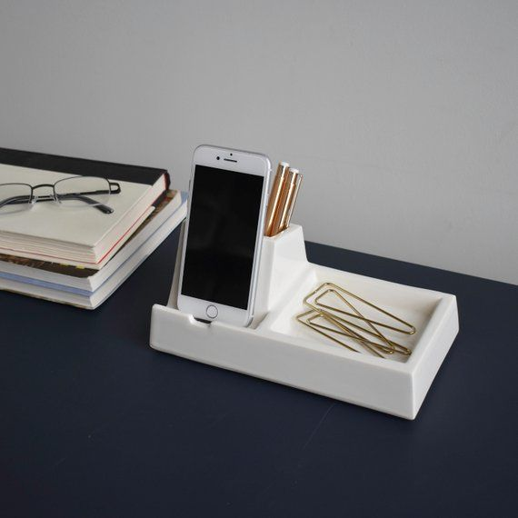 STAK Phone Dock Valet, White in 2019 | Products | Wooden