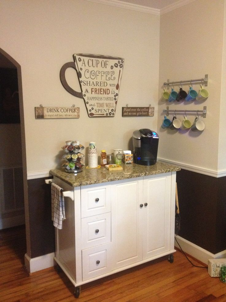 Best 25+ Home Coffee Stations Ideas On Pinterest | Tea Station, Coffee  Corner Kitchen And Coffee Kitchen Decor