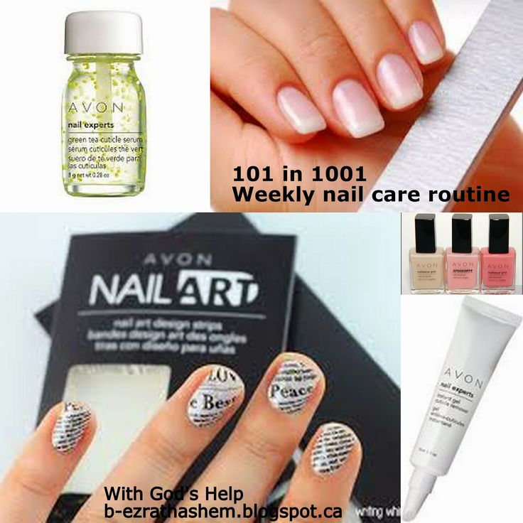 With God's Help: Weekly items for 101 in 1001: Nail Care