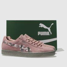 brand new 77995 8c1ce Puma suede sunfade stitch 1 | Shoes | Pink puma suede, Puma ...