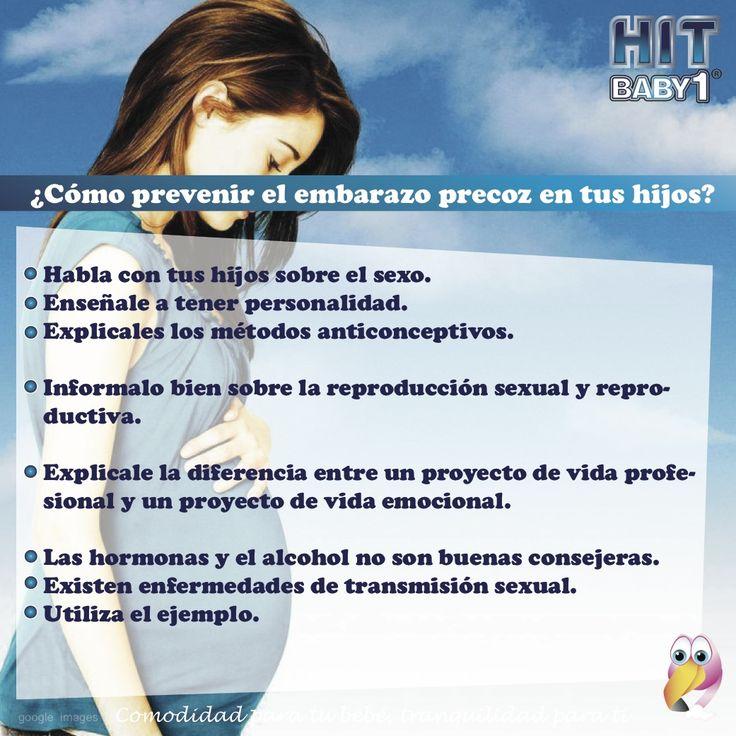 ¿Cómo prevenir un embarazo en tu hija adolescente? #embarazo #hijos #hijas #adolescentes