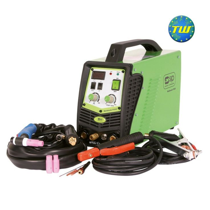 SIP 05269 Weldmate P208HF Dual TIG/Arc Inverter Welder - 200A TIG - 180A Arc http://www.twwholesale.co.uk/product.php/section/7130/sn/SIP05269