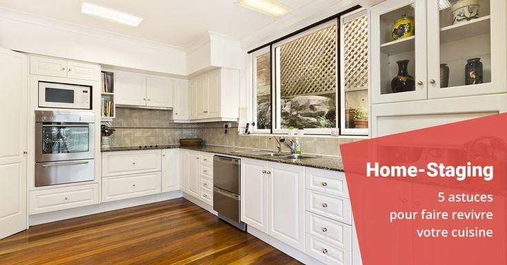 Changer de cuisine sans vraiment changer de cuisine c'est possible ! 5 astuces de home-staging pour votre cuisine.