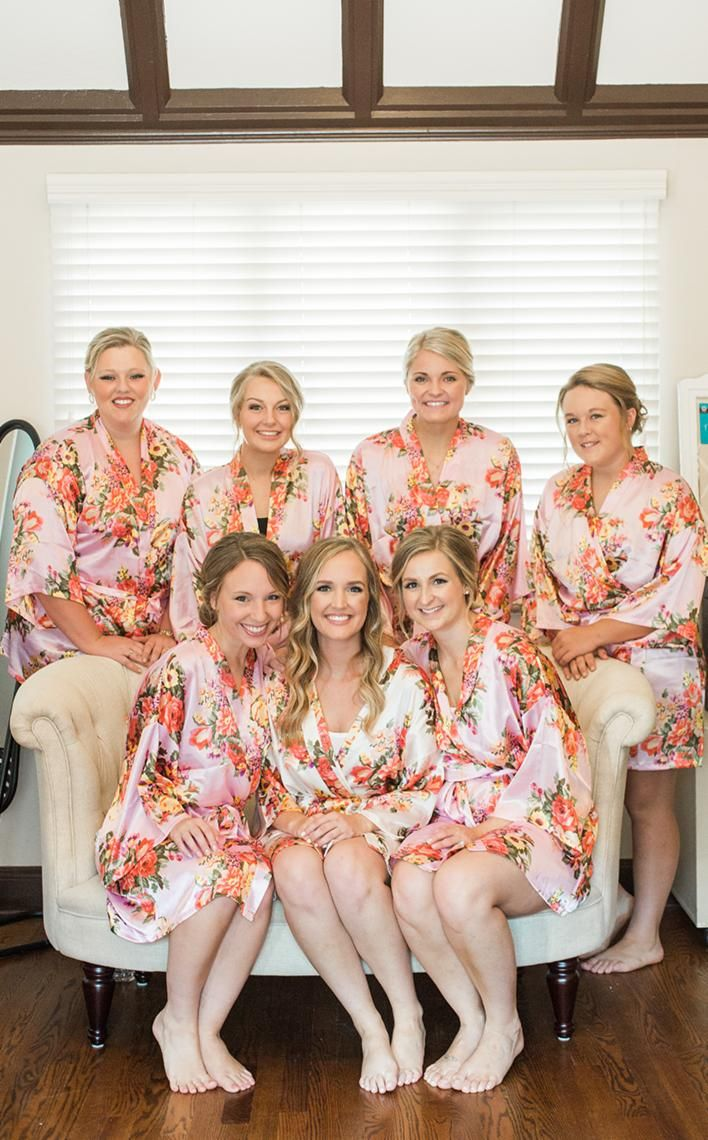 Getting Ready With The Bridesmaids Wedding InspirationWedding IdeasWedding