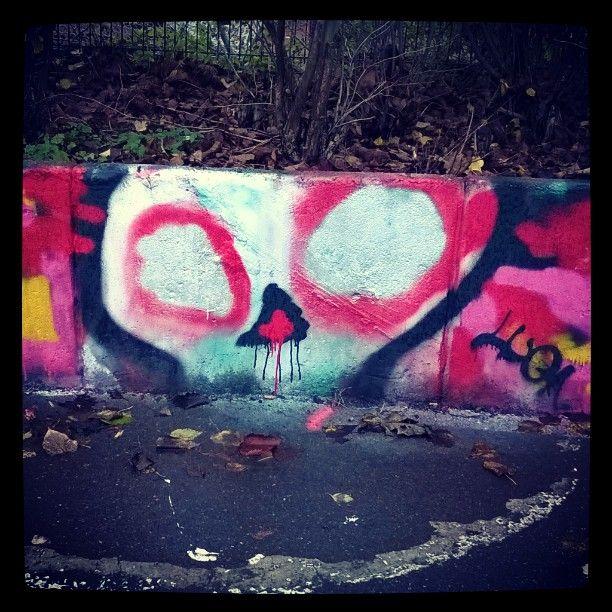 #streetart #katutaidetta #kallio #pääkallo #skull