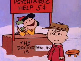 """I know how you feel about all of this Christmas business, getting depressed and all that.     It happens to me every year.  I never get what I really want.     I always get a lot of stupid toys or a bicycle or clothes or something like that."" ~Lucy Van Pelt    ""What is it you want?"" ~ Charlie Brown    ""Real estate."" ~Lucy Van Pelt - A Charlie Brown Christmas"