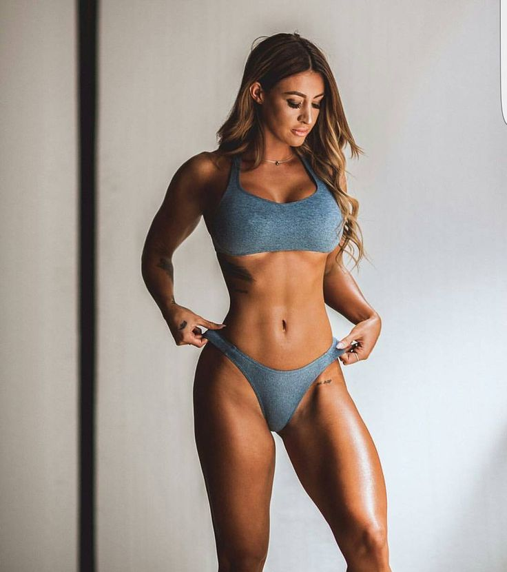 how to look like a fitness model female