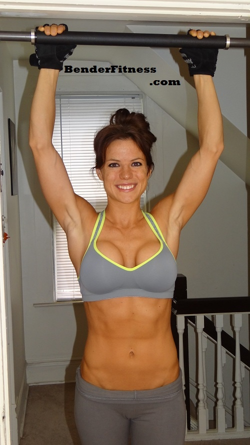 Melissa Bender Fitness Building Up To A Pull Up
