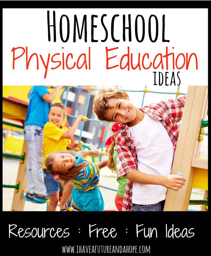 Homeschool P.E. (Physical Education): 31 Days of Homeschool Supplies: