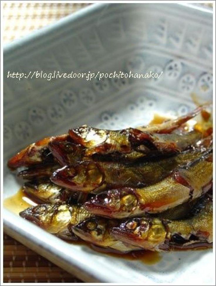 稚鮎の甘露煮の作り方。|ダイエット低カロリーレシピ検索・バランスの ...