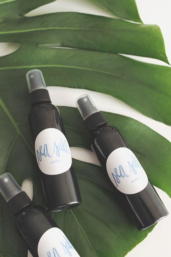 diy sea salt spray for hair | almost makes perfect