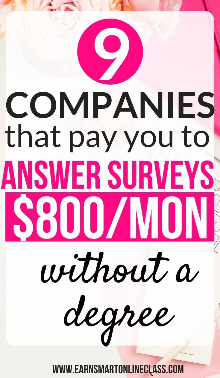 16 Companies Offering Paid Online Surveys For Money Upto 300