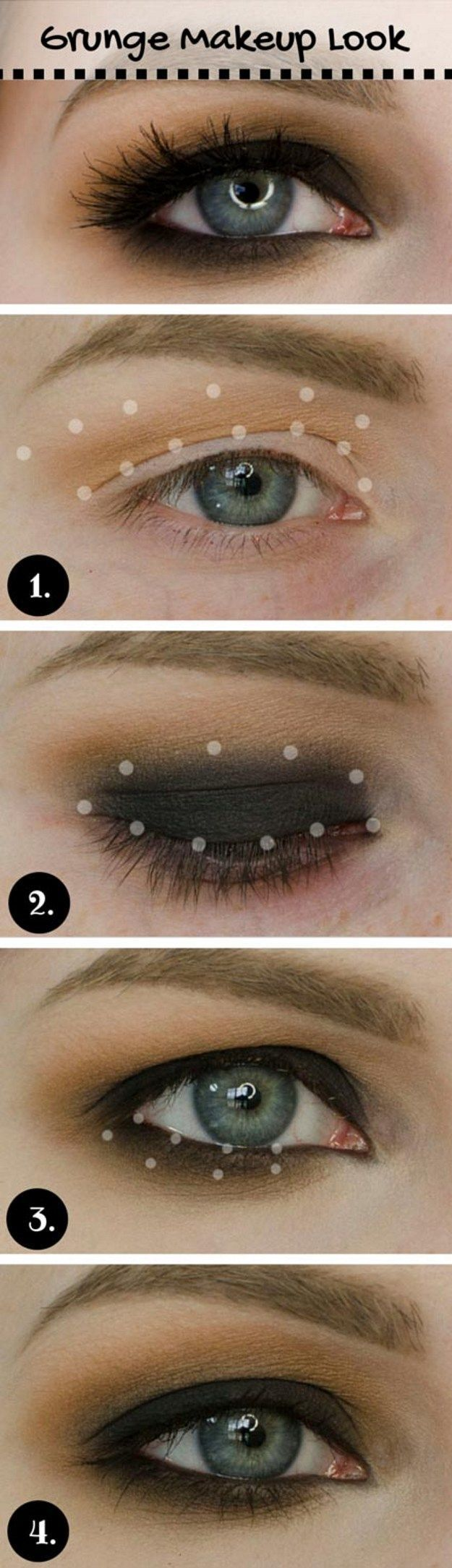 lovely makeup tutorials for blue eyes edgy makeup easy