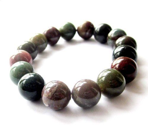 12mm Agate Beads Buddhist Wrist Japa Mala Bracelet for Meditation Ovalbuy. $5.99. elastic cord. Free Jewelry Pouch. Material: Agate. Beads Size: about 12mm