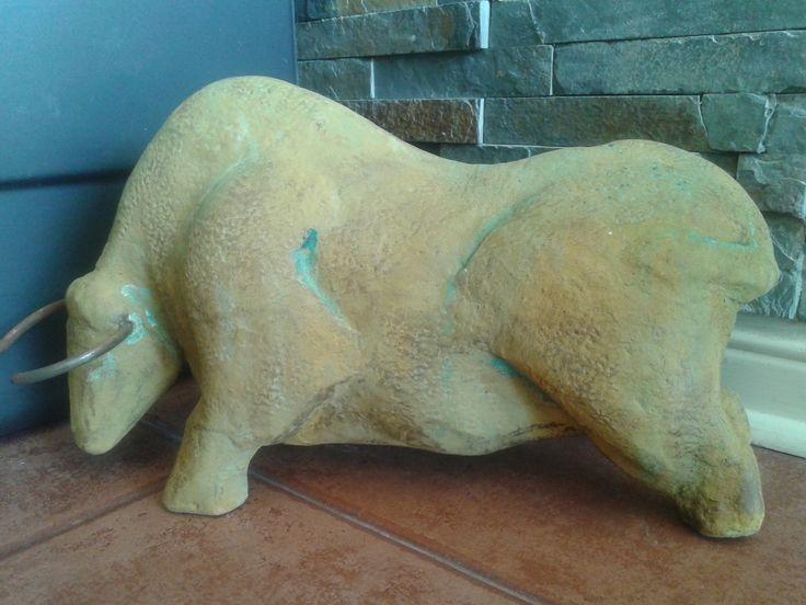 toro con sulfato de cobre by pamela m