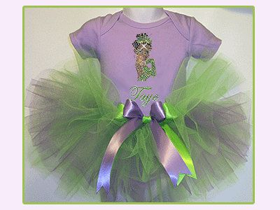 Princess Tiana Tutu Set  Princess and the Frog Tutu  Princess Tiana Birthday Tutu  1st Birthday Tutu Set  Disney Princess Tutu Set & 76 best Princess Tiana party ideas images on Pinterest | Princess ...