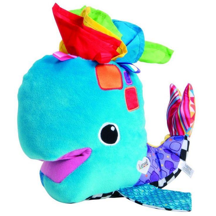 Lamaze, zabawka edukacyjna, Chusteczkowy wieloryb Frankie