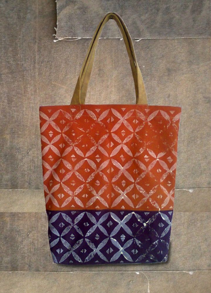 VIDA Foldaway Tote - Nature and Texture by VIDA 3whFmH