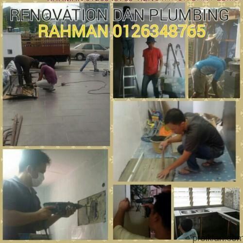 Rahman 0126348765 menyediakan perkhidmatan renovation dan plumbing servis: Tukang paip/plumber ukay bistari Tukang cat ukay bistari Tukang atap bocor ukay bistari Tukang rumah ukay bistari T...