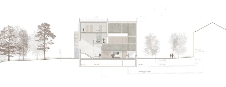 raumfindung Architekten . District Court Extension . Meilen (15)