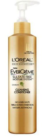 L'Oreal EverCreme Cleansing Conditioner. Co-washing made easy!
