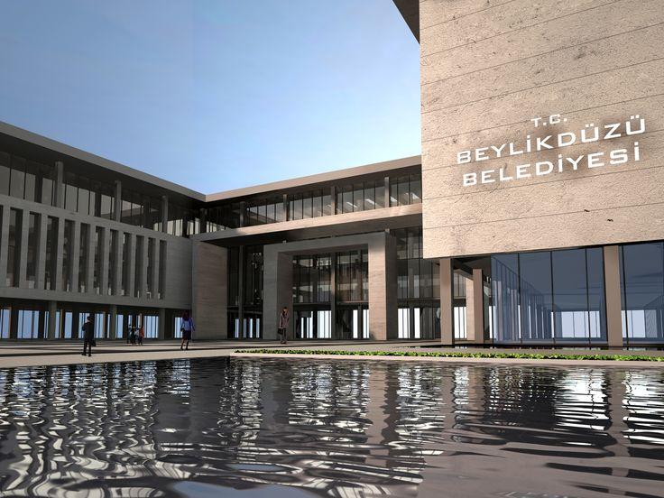 Beylikdüzü Belediye Binası -  Konsept