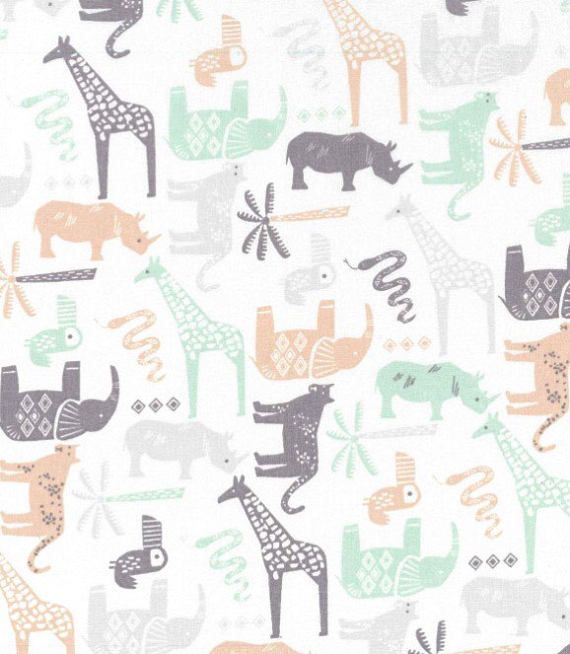 Item#SFA12289 Made to order This listing is for 1 x fitted sheet in Safari Animals This is a great choice for any nursery or toddler room! Features: 100% Quality Cotton Enclosed elastic around the entire sheet not just the corners! SIZING: Fits standard crib / cot mattress size ( 28 x 52 x 6 deep) Changing Pad Sheet fits the standard 32x16x 3-4 Alma Mini Crib Sheet 35.5x 17.75x 3.25 Mini Crib Sheets 38x 24X 6 Custom orders are always welcome