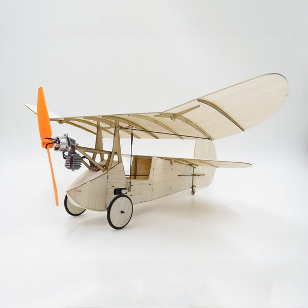 Flea Balsa Wood 358MM Wingspan Micro RC Airplane Newton Kit With Power System