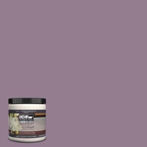8 oz. #680F-5 Plum Swirl Interior/Exterior Paint Sample-680F-5U at The Home Depot, for the totally girly guest room.
