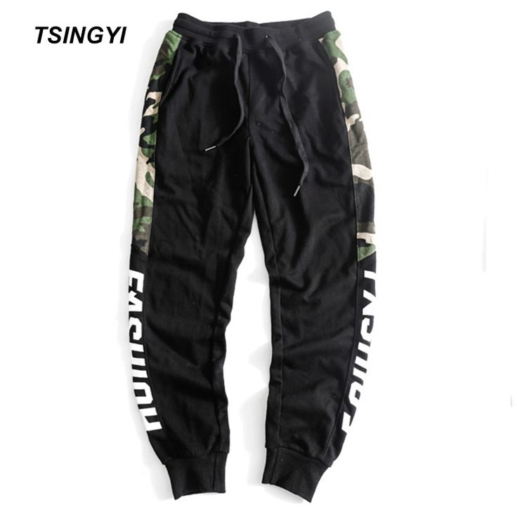 Tsingyi Spring New 5XL Spliced Camouflage Men Pants Black Jogger Male Romper Sweatpants Drawstring Leggins Hombre Mens Trousers. Yesterday's price: US $38.90 (31.76 EUR). Today's price: US $27.23 (22.30 EUR). Discount: 30%.