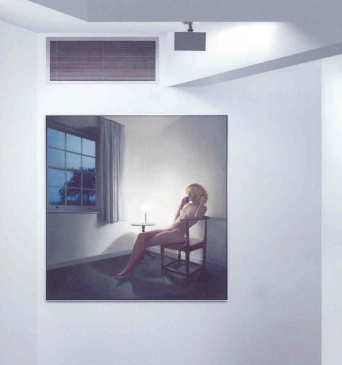 Richard Hamilton 'The annunciation', 2005 © Richard Hamilton. All rights reserved, DACS 2015