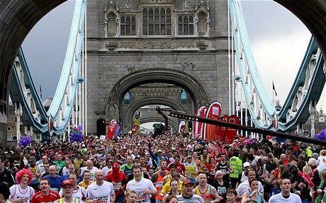 Run the London marathon (or any marathon for that matter)